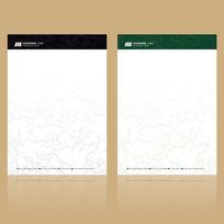 欧式信纸设计