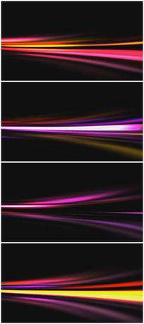 彩色流光背景视频素材