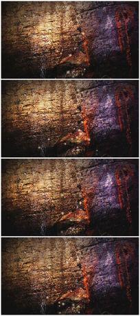 古老化石怀旧岁月背景视频素材 mp4