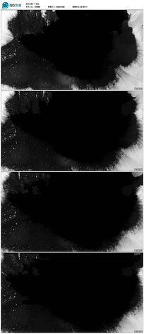 黑色水墨视频素材