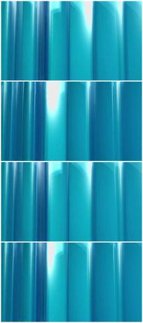 蓝色质感幕布简单大气背景视频素材