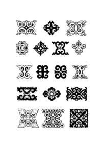 蒙古族传统花纹系列
