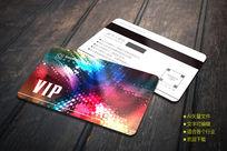 时尚绚丽酒店VIP会员卡设计