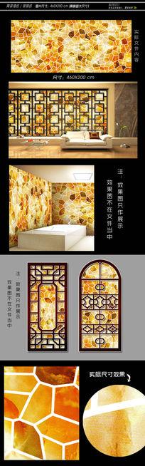 陶瓷拼花装饰材料 TIF
