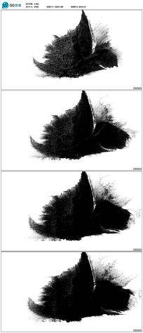 中国风水墨视频素材