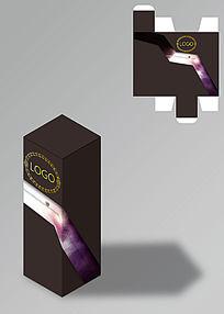 暗色高档烟酒包装盒