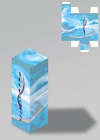 创意华丽大气包装盒