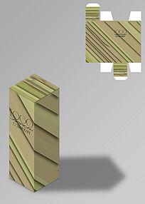 粗犷风格斜纹包装盒