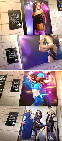 灯箱海报广告展示ae模板