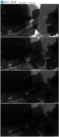 黑色水墨视晕染视频素材