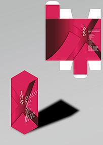 红色系化妆品包装盒