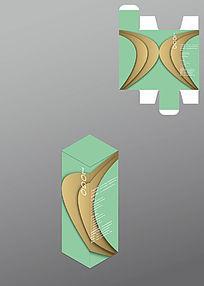 弧形设计别致包装盒