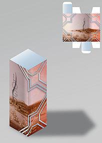 简约文艺油画包装盒