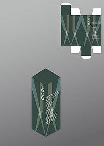 科技感电子产品包装盒