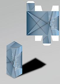 凌乱几何设计包装盒