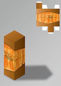 欧式复古进口商品包装盒