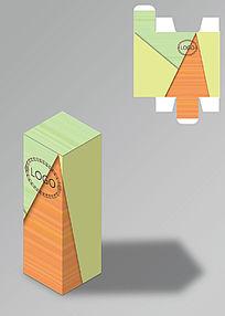 拼色简洁包装盒
