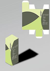 拼色优雅时尚包装盒