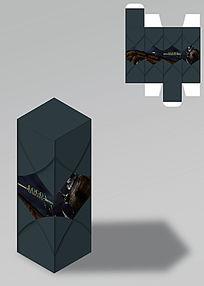 朴实风格商务包装盒