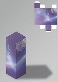 星空文艺玩具包装盒