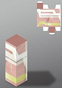 墙纹设计古风包装盒