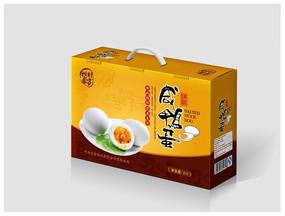 咸鸭蛋包装平面图