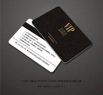 经典黑色VIP卡设计