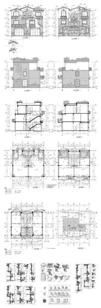自建楼房施工CAD图