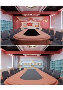 少队室兼会议室