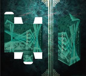 创意视觉系古典包装盒