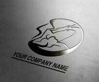 创意时尚龙型企业logo设计