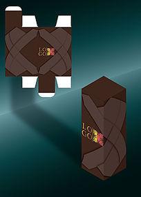 对称印象风格包装盒