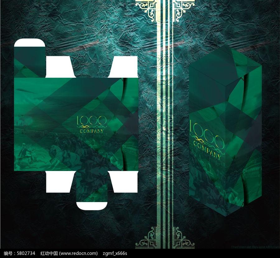 欧式古典红酒包装盒