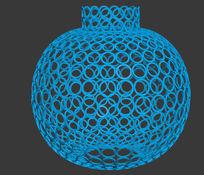 花瓶室内摆设3D模型