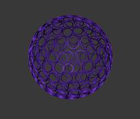 球型灯3d模型