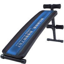 蓝色运动健身腹肌板图案