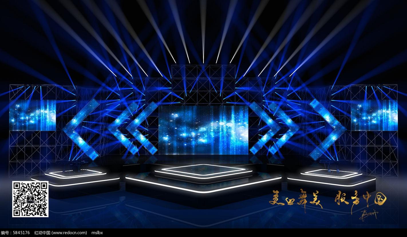 跨年演唱会舞台效果图图片