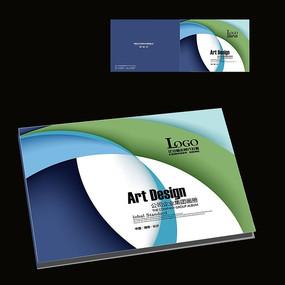 科技产品宣传册封面设计横版