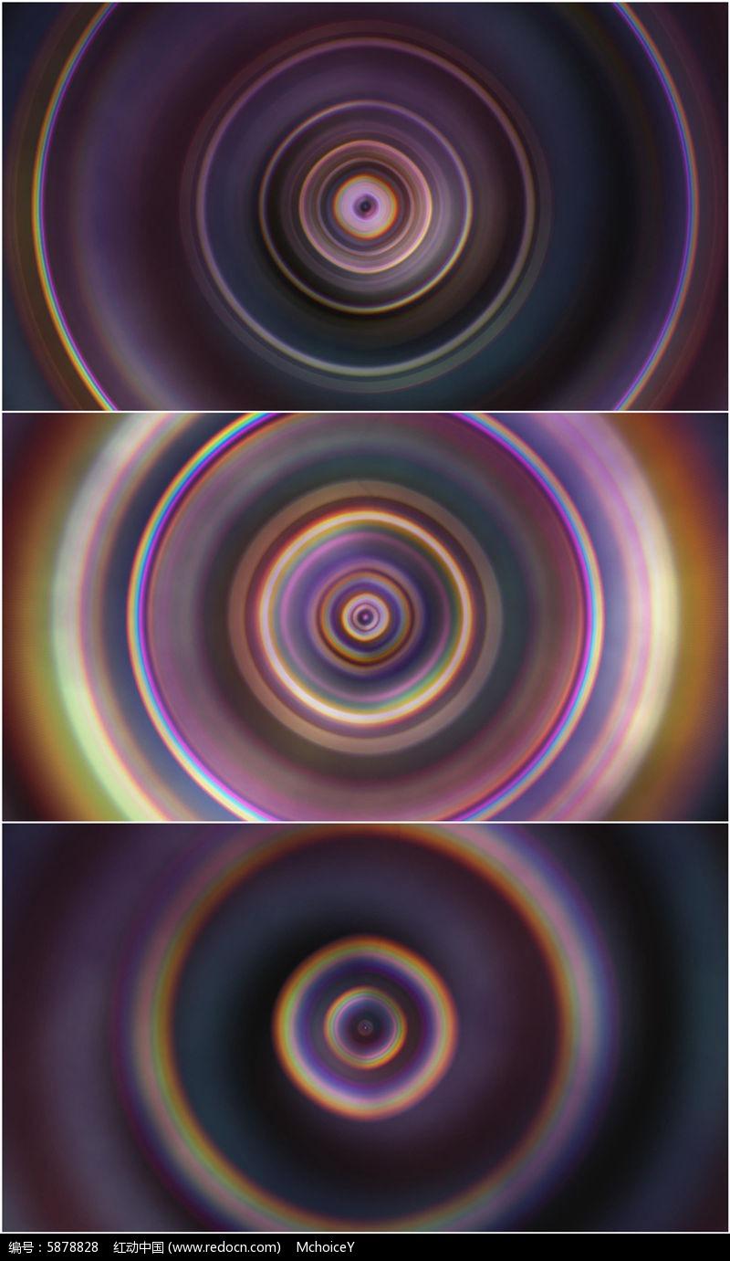 4k超清圆圈动态扩散唯美背景视频素材