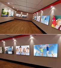 虚拟展览厅展馆博物馆画展AE模板