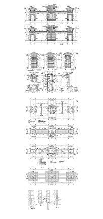 公园大门建筑设计