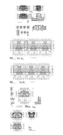 商务楼建筑图纸 dwg