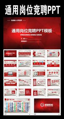 通用岗位竞聘报告岗位竞聘PPT模板模板下载