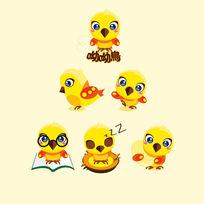 黄色可爱鸟LOGO
