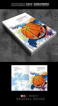 篮球俱乐部宣传画册封面