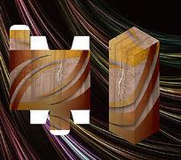 典雅简洁花纹包装盒