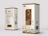 五常大米小礼盒 PSD