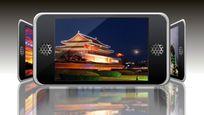 高科技数字智能手机动感照片展示AE模板