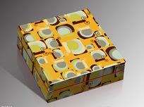 卡通图案矢量包装礼盒