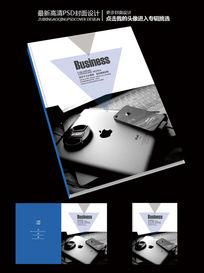 电子产品前卫杂志艺术封面设计